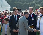 Canadian National Vimy Memorial - Vimy 100 Ceremony.